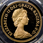 GREAT BRITAIN Elizabeth II エリザベス2世(1952~) 5Pounds 1981