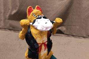 薩摩張子人形